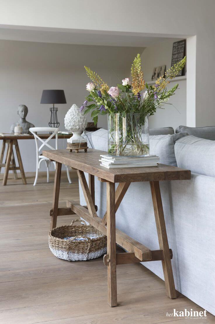 Monet's Easel Style Sofa Table