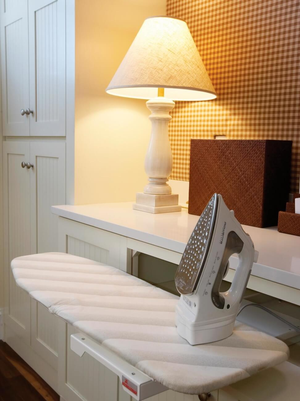 Creative Hideaway Ironing Board Storage