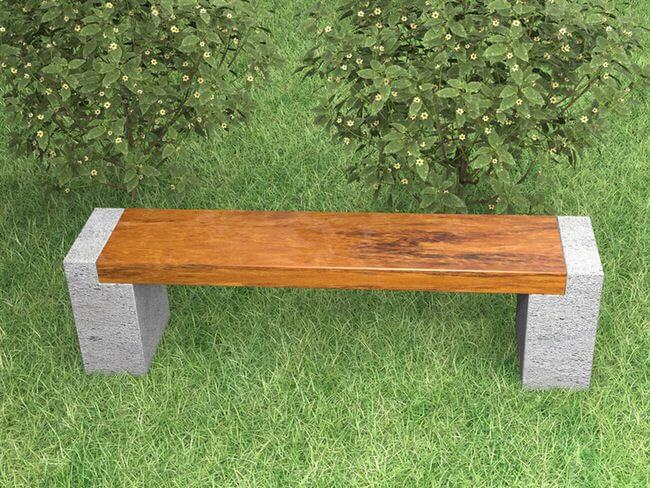 outside bench ideas