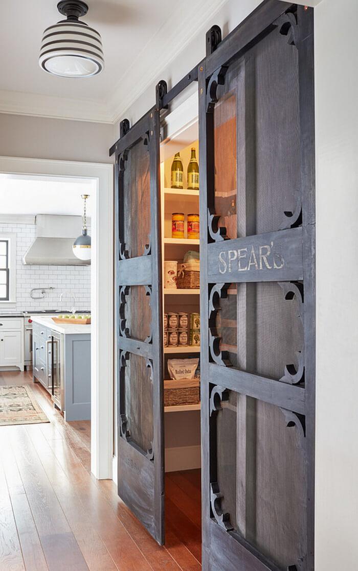 Mod-Meets-Victorian Veranda Style Sliding Doors
