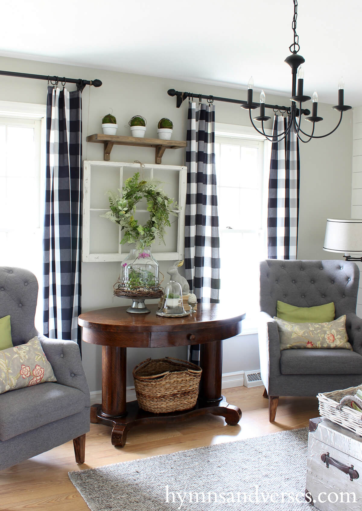 Springtime French Country Seating Area Part 98