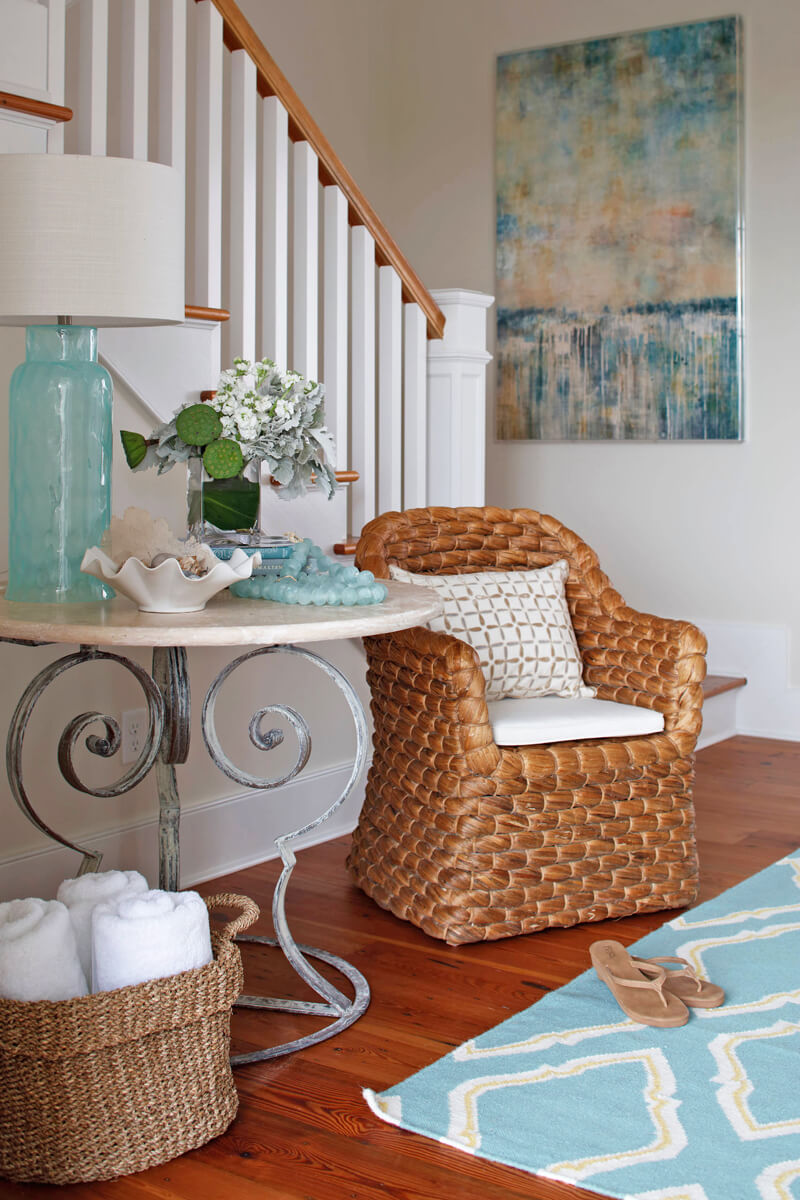 entrance way beach and coastal decorating ideas - Coastal Decorating Ideas