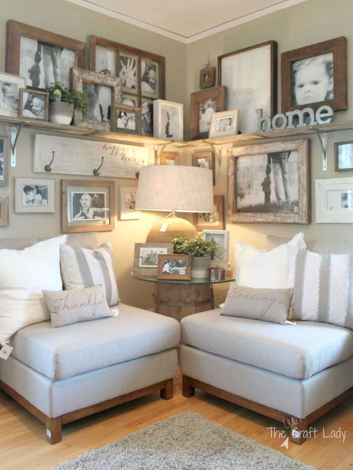 Farmhouse living room for Design and deco