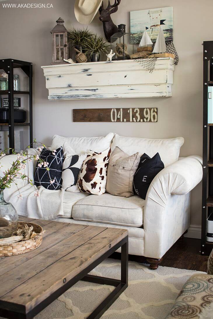 Homey Cottage Style Living Room