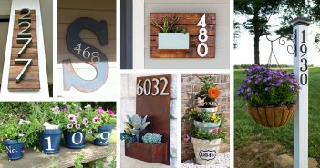 Creative House Number Decorating Ideas