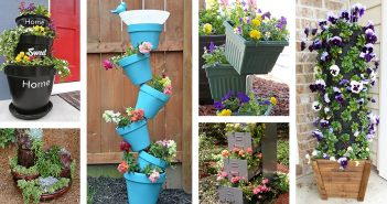 DIY Flower Tower Designs