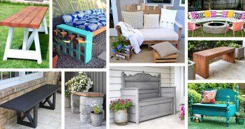 DIY Outdoor Bench Ideas