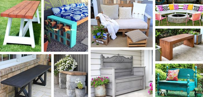 27 best diy outdoor bench ideas and designs for 2018 - Diy Patio Bench