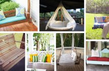 DIY Porch Swing Bed Ideas