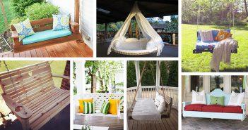 DIY Porch Swing Bed Ideas