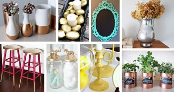 DIY Spray Paint Makeover Designs