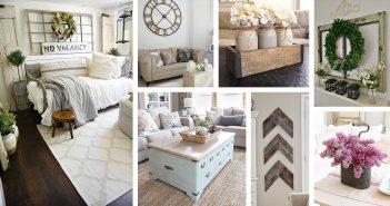 Farmhouse Living Room Decor Designs
