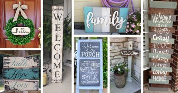 Front Porch Sign Designs and DIY Projects