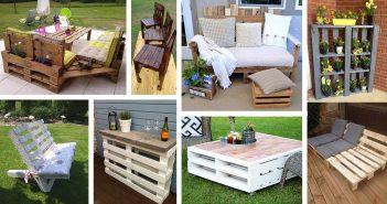 Outdoor Pallet Furniture Ideas
