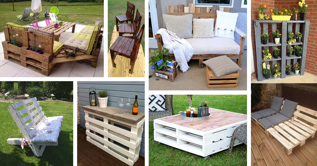 furniture ideas 27 best outdoor pallet furniture ideas and designs for 2017
