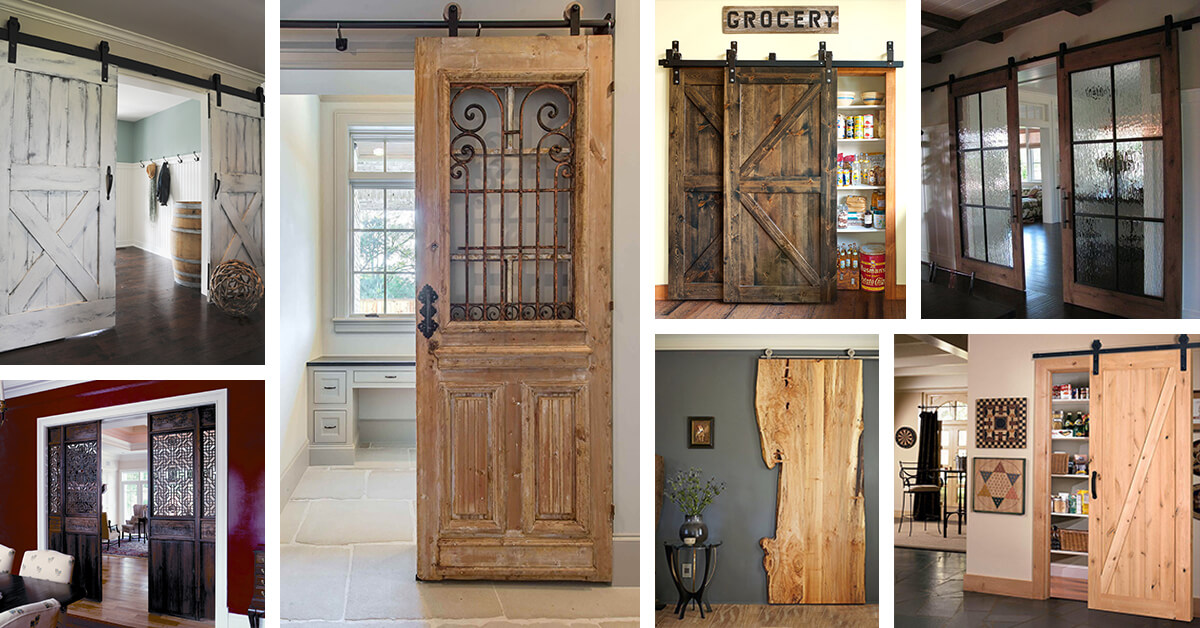 Country Chic 29 Sliding Barn Door Ideas