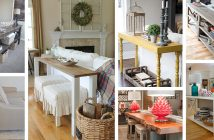 Sofa Table Decor Ideas