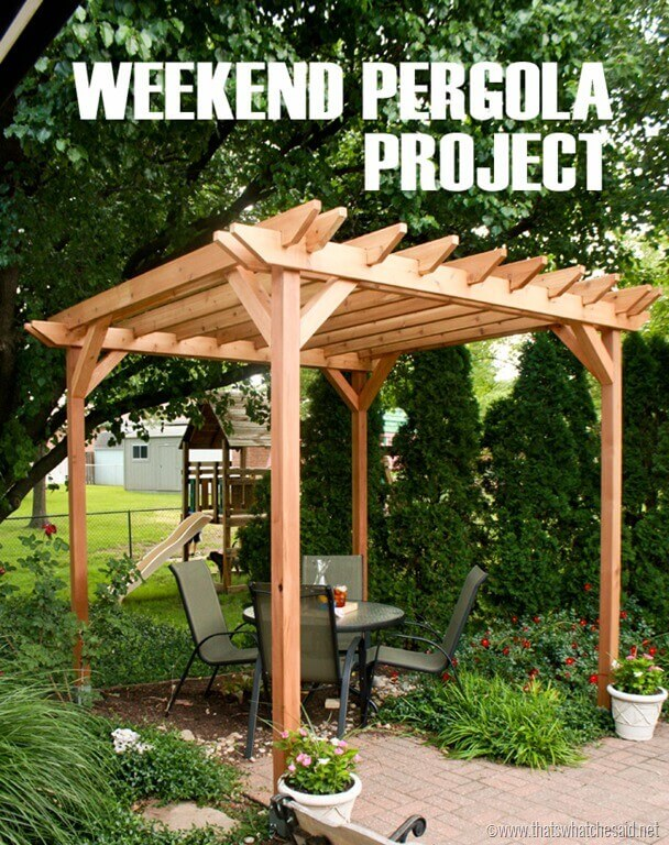 Beau Backyard Getaway Pergola Project