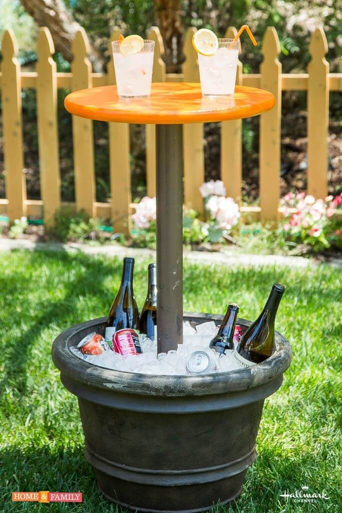 32 best diy outdoor bar ideas and designs for 2017 - Diy garden decoration ideas ...