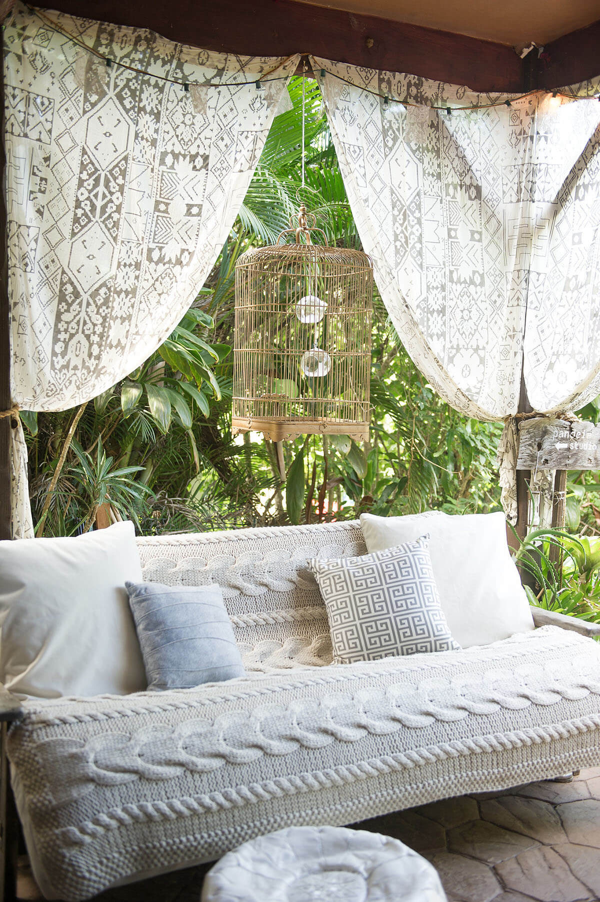 Neutral Tribal Patterns for Chic Boho Vibe