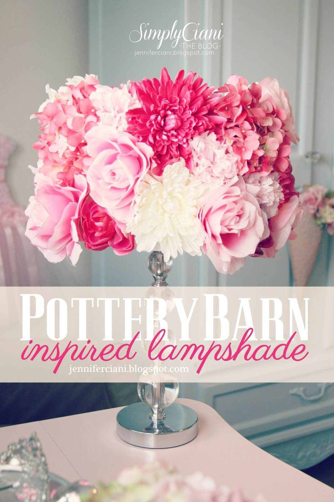 Beautiful Bouquet Lampshade