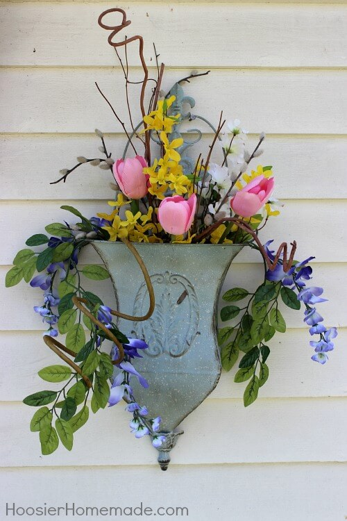 Whimsical Wall Container Flower Pot