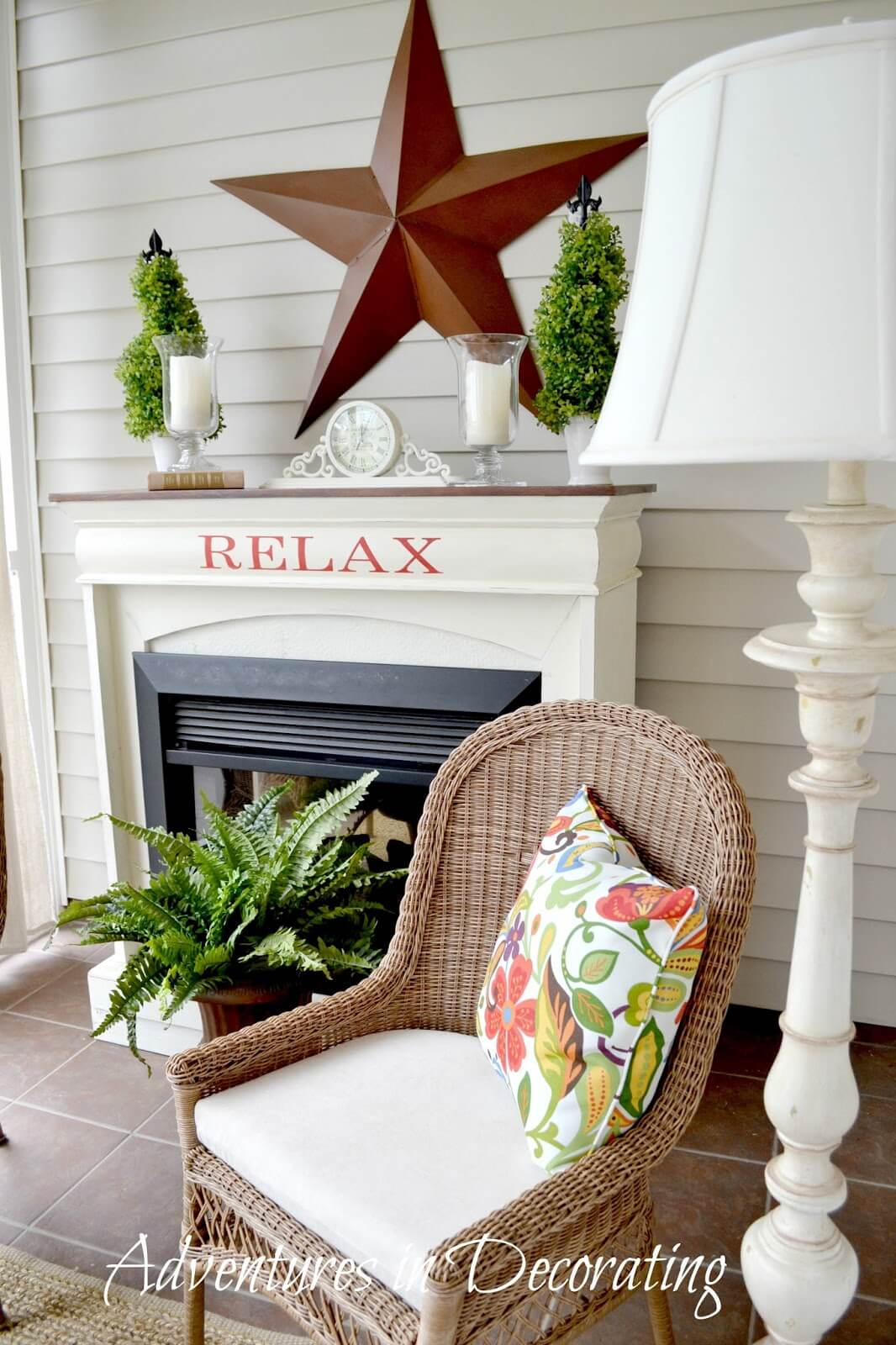 Create Your Own Relaxation with Vinyl Lettering