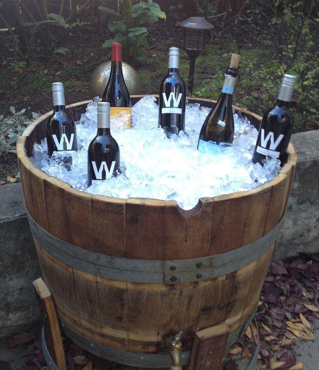 DIY Outdoor Bar Ideas With Wash Basins