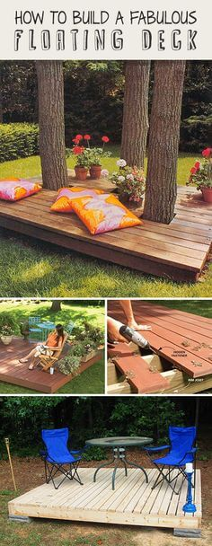42 summery diy backyard projects for functional outdoor beauty