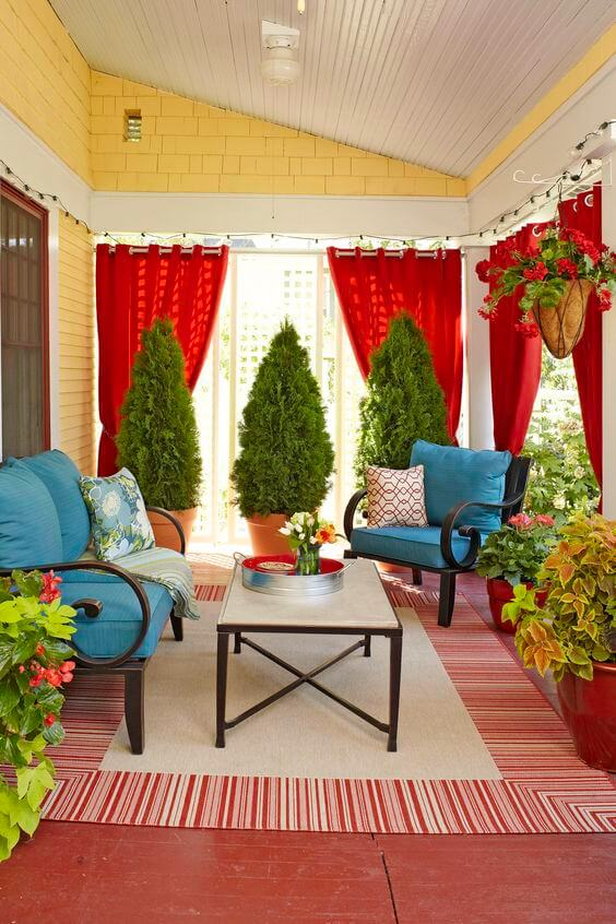 Outdoor Decor 13 Amazing Curtain Ideas For Porch And Patios Style Motivation