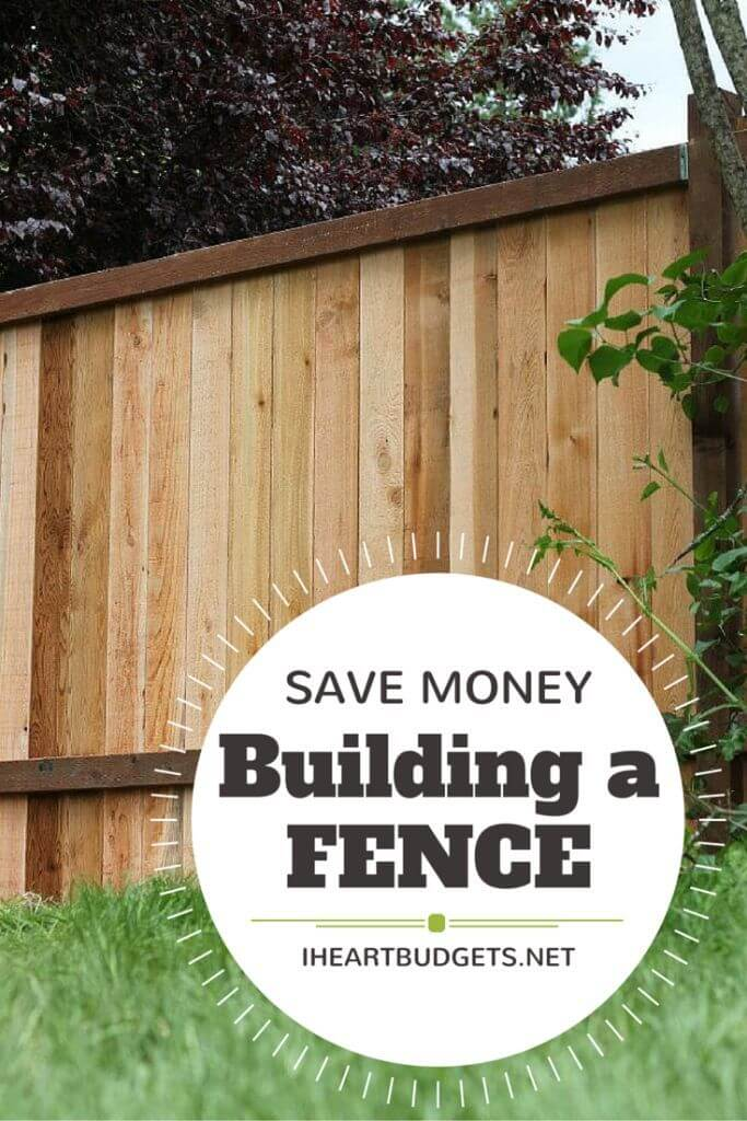Solid Vertical Wooden Plank Fence