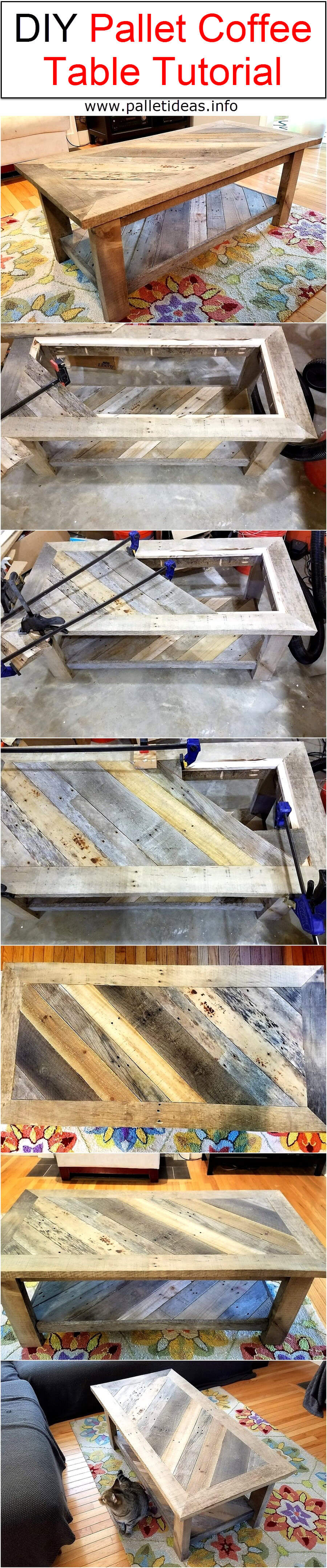 Save that Pallet! Coffee Table