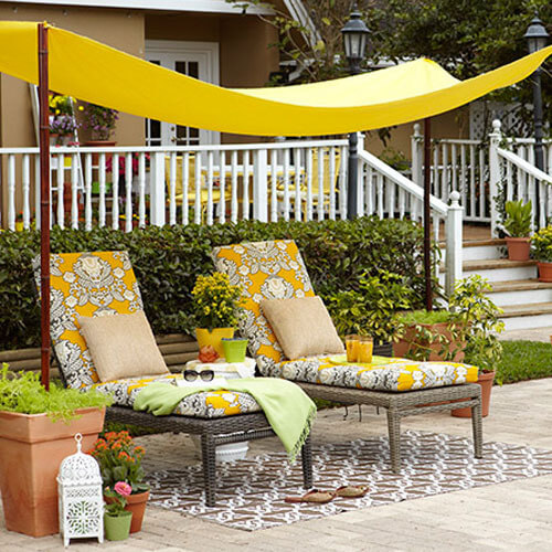 Elegant Diy Pool Side Cabana