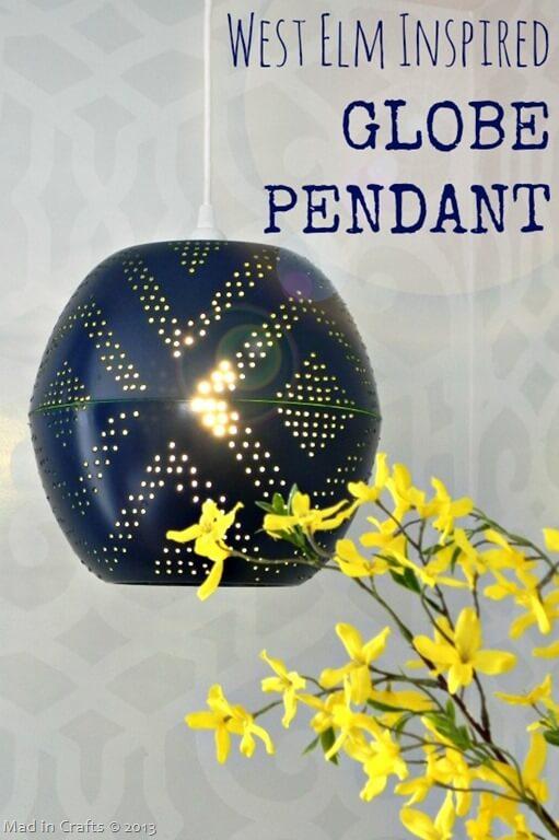 Starry Night Globe Lampshade