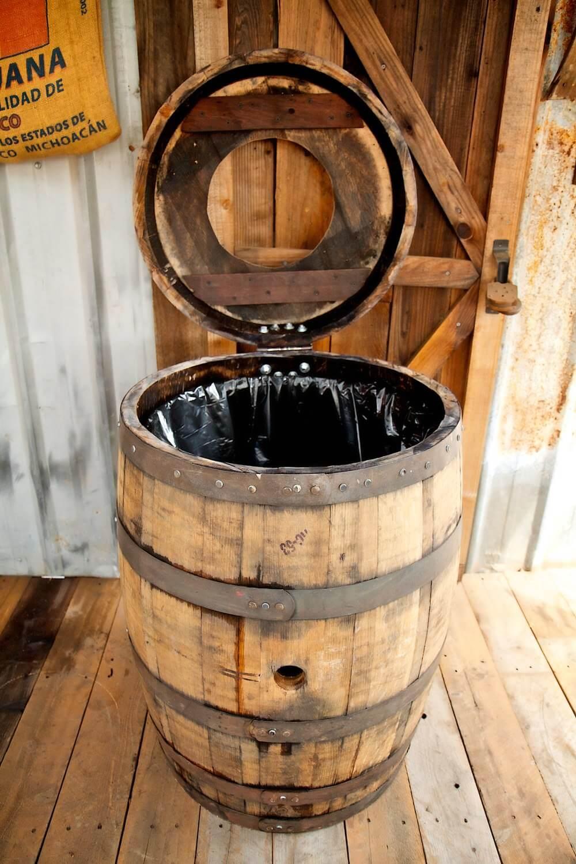 Riches-to-Rubbish Barrel Bin