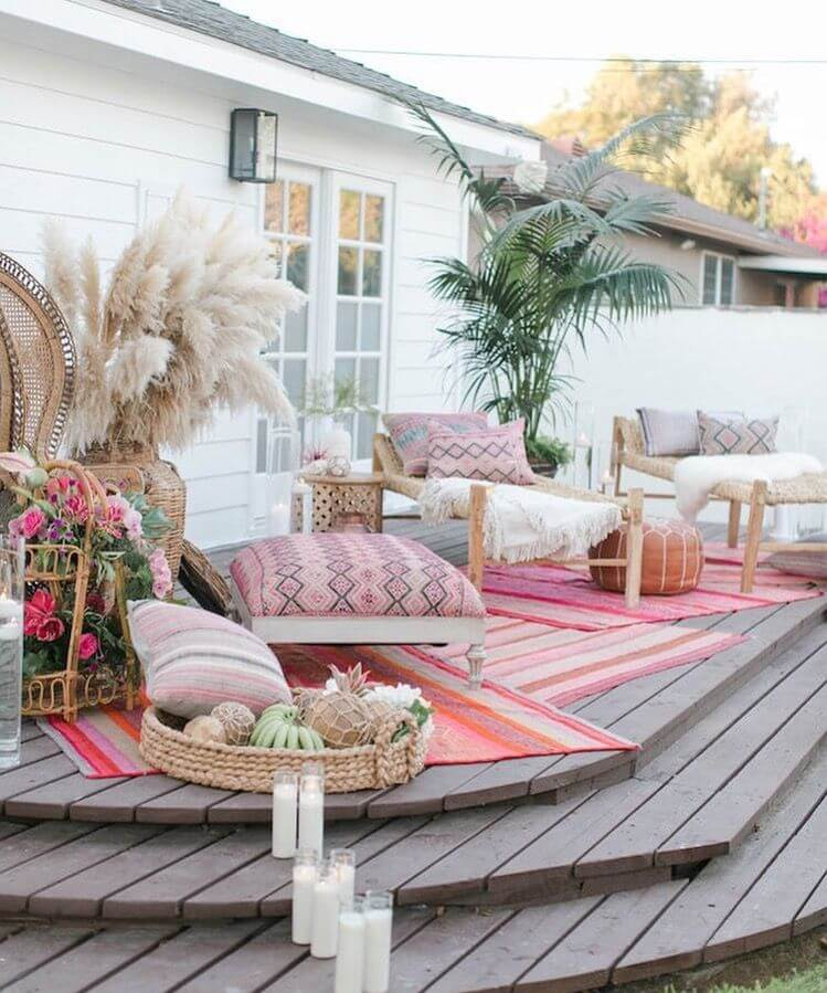 Moroccan Inspired Summer Porch Decor Ideas