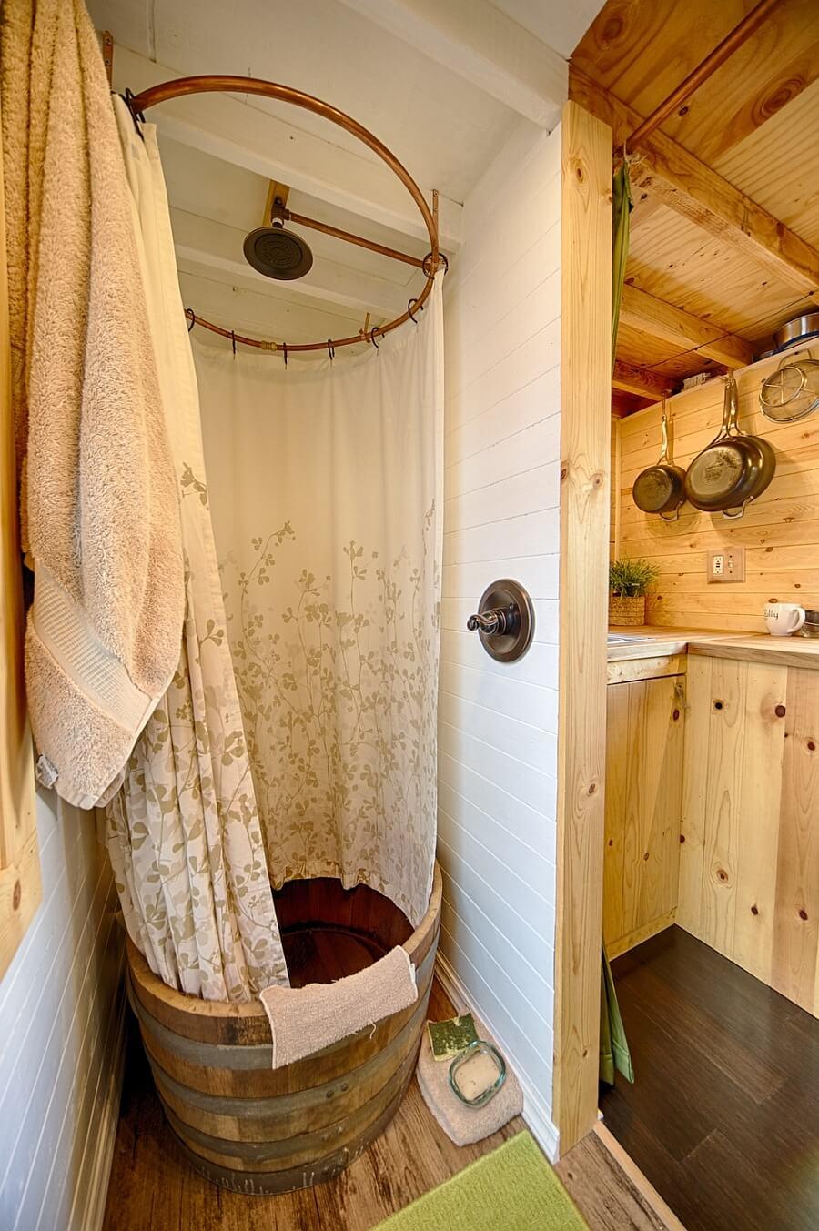 Personal Vineyard Shower
