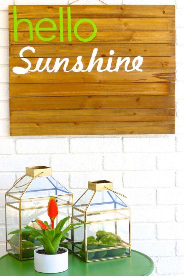 Miniature Tabletop Glass Greenhouse Planter