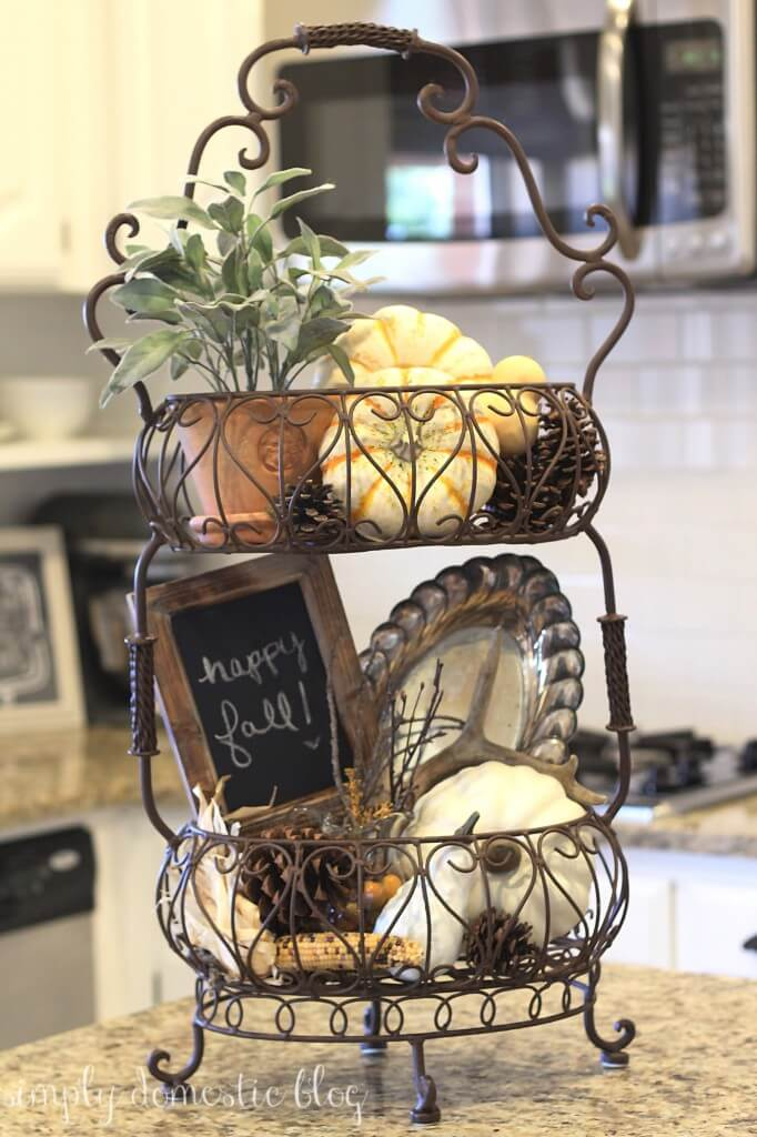 Cafe Style Wire Display Basket