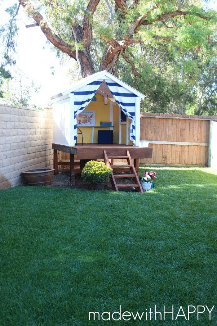 Backyard projects 15 amazing diy outdoor decor ideas for Diy home design ideas landscape backyard