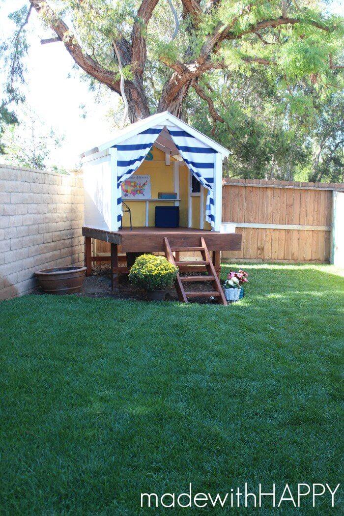 Petite Treeless Tree House