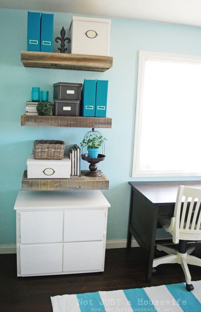 Good and Sturdy Floating Wood Shelves