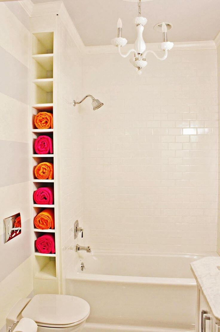 34 Best Towel Storage Ideas and Designs for 2018