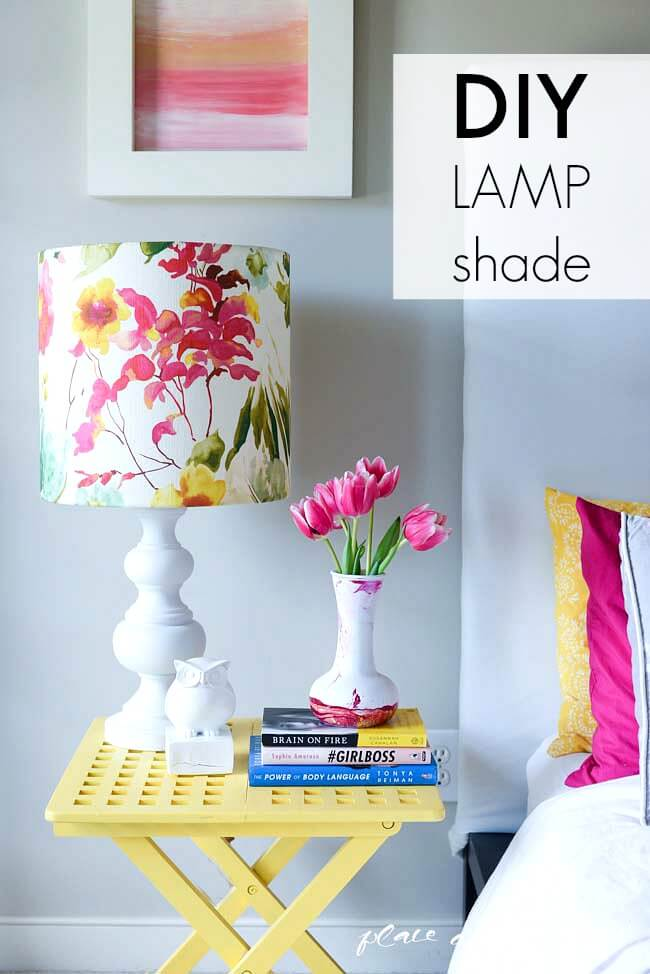 Picture Perfect Painterly Lampshade