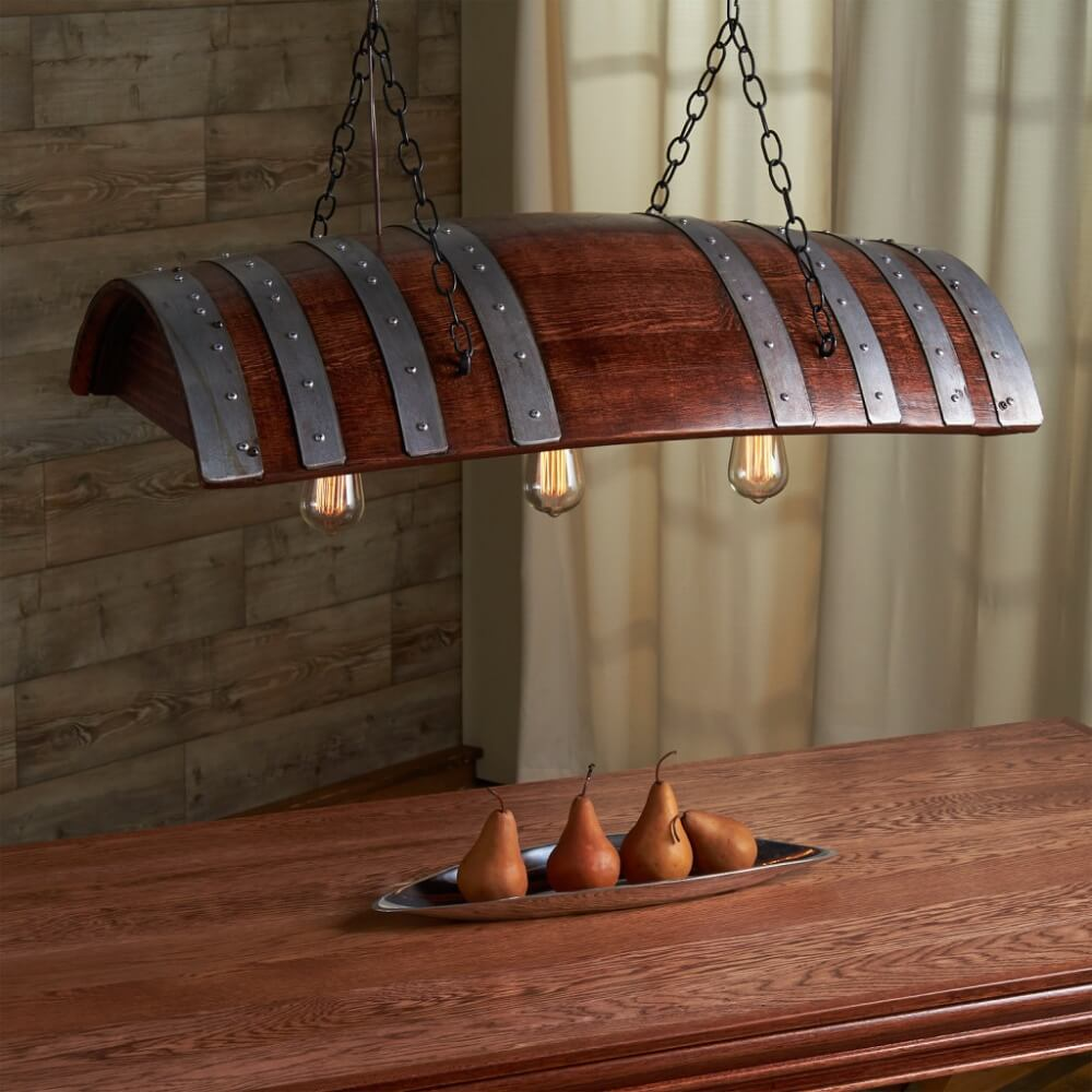 Publick House Style Barrel Lamp
