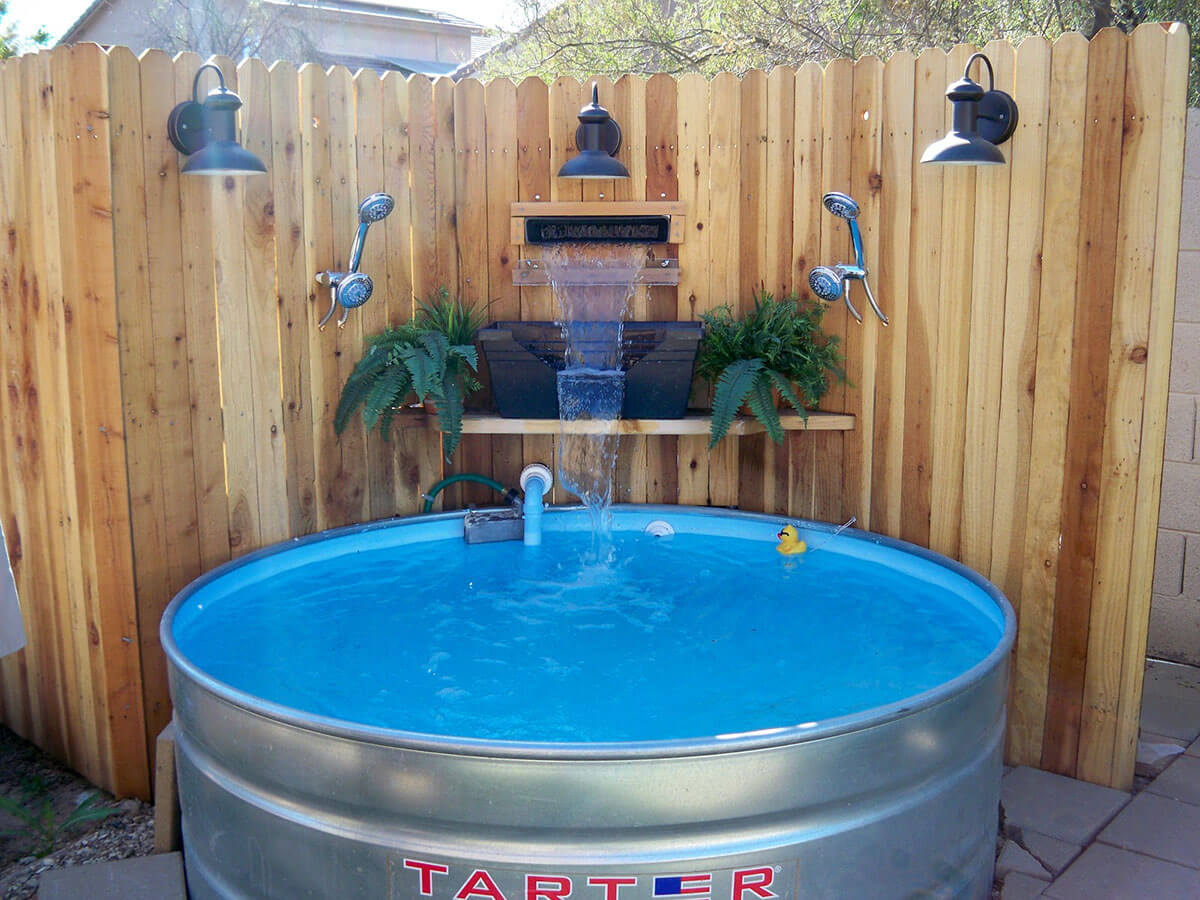 DIY Pacific Patio Pool