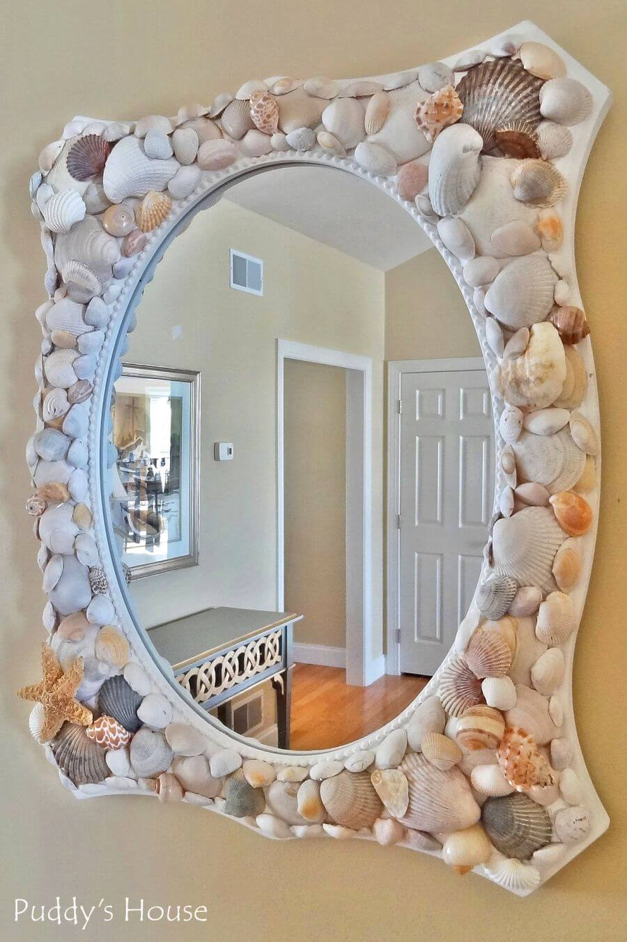 35 best diy shell projects ideas and designs for 2017 for Shell diy