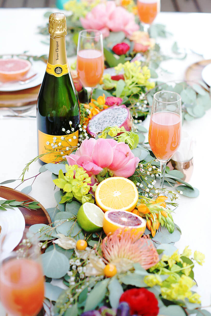 35 best summer table decoration ideas and designs for 2017 Brunch table decorations