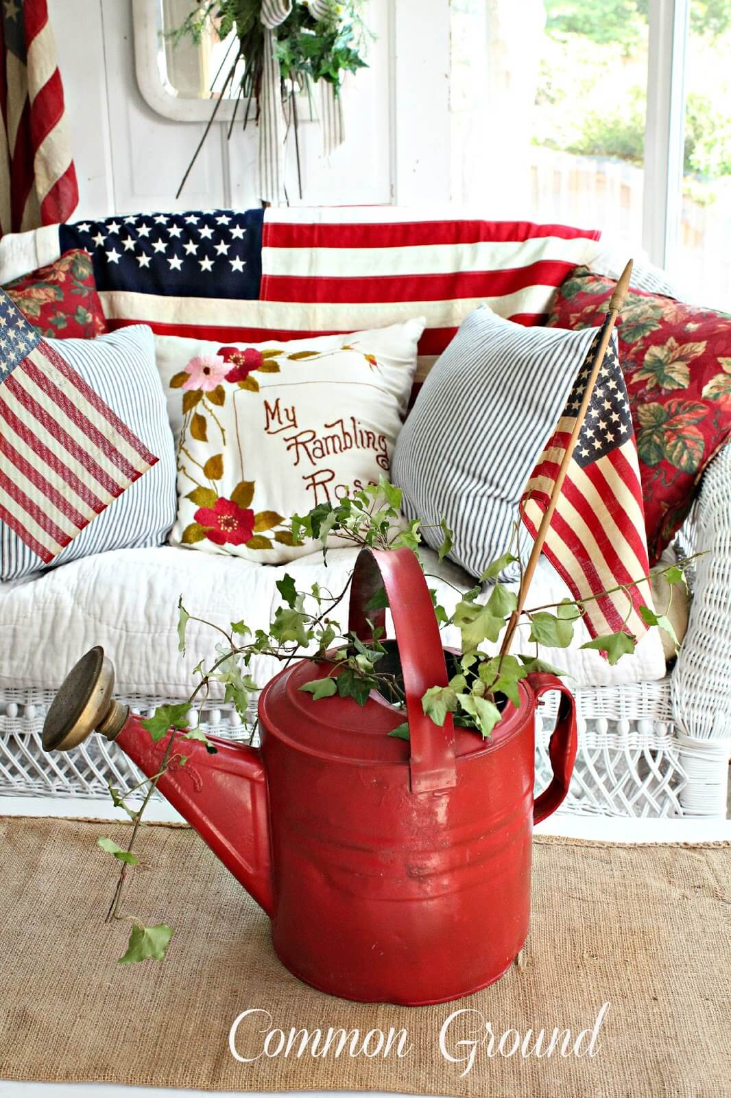 Fourth of July Porch Decor Inspiration