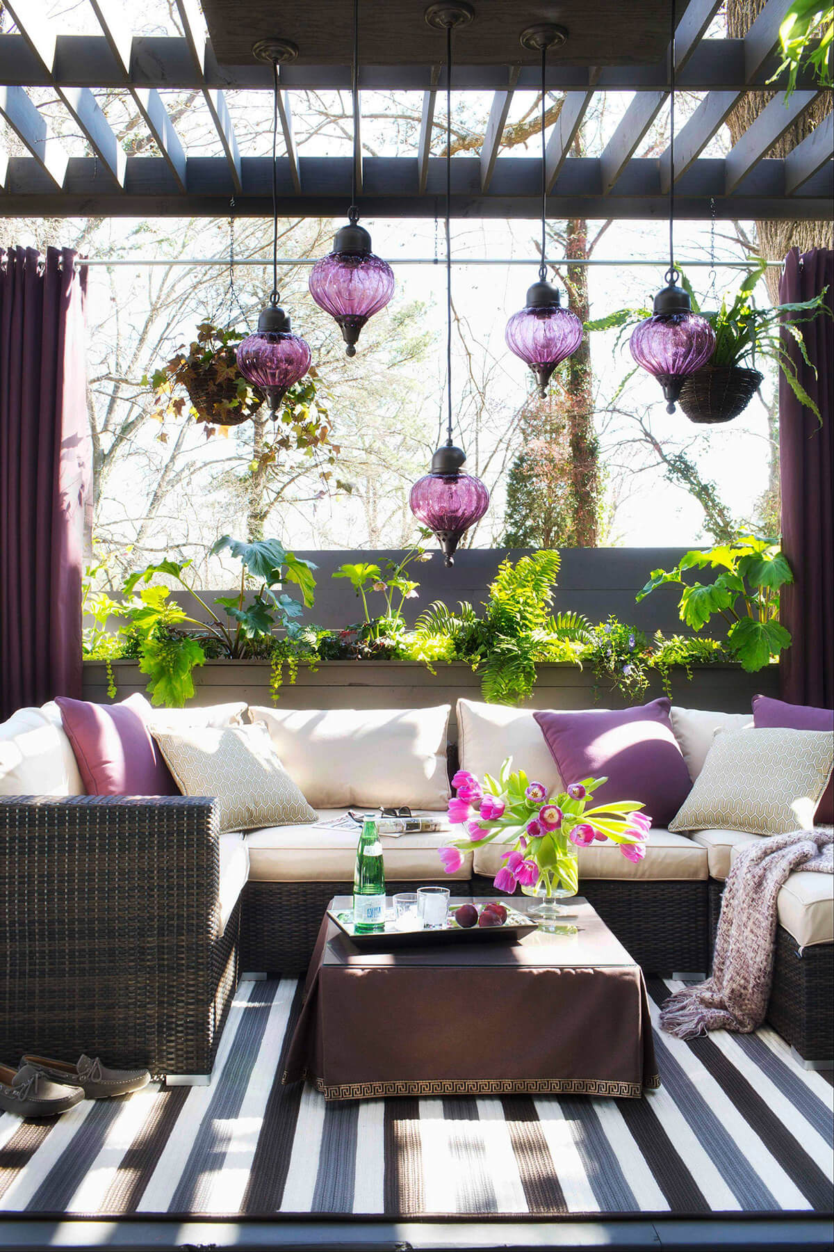 Amethyst Open Air Summer Seating Area